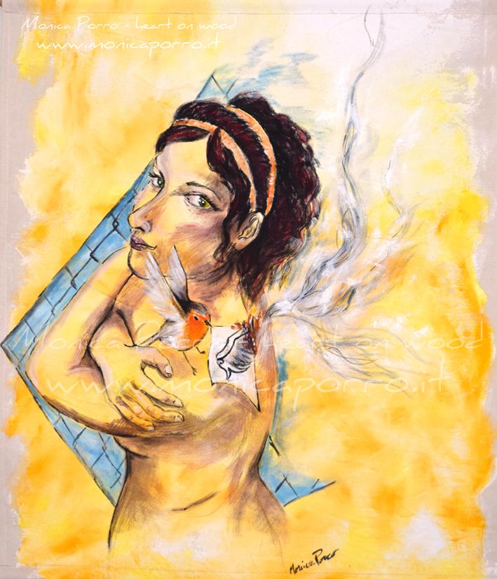 Ali, dipinti in valigia